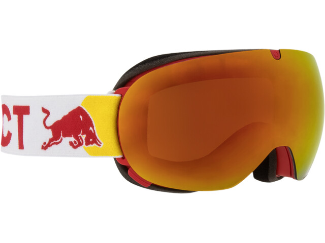 Red Bull SPECT Magnetron Ace Gogle, red/red snow